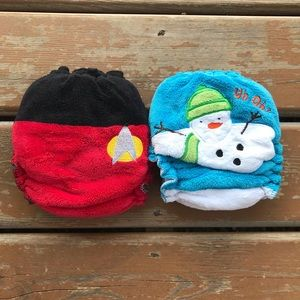 Maplebean One Size Fitted Cloth Diapers- Star Trek